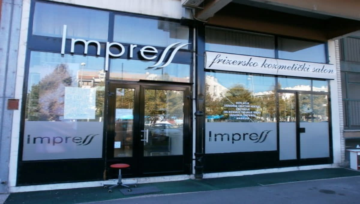 Frizersko-kozmetički salon, Avenija Dubrava, Tramvajska zona